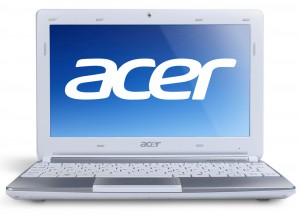 Acer Aspire ONE AOD257-1CWS  White